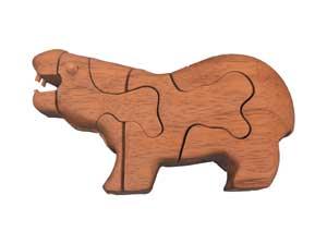 Rompecabezas Hipopótamo.