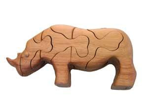 Rompecabezas Rinoceronte.