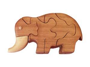Rompecabezas Elefante.